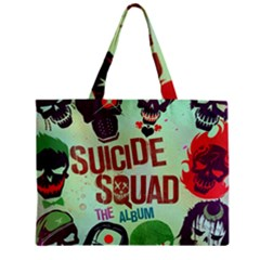 Panic! At The Disco Suicide Squad The Album Zipper Mini Tote Bag by Onesevenart