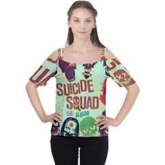 Panic! At The Disco Suicide Squad The Album Women s Cutout Shoulder Tee by Onesevenart
