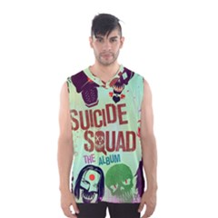 Panic! At The Disco Suicide Squad The Album Men s Basketball Tank Top by Onesevenart