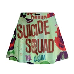 Panic! At The Disco Suicide Squad The Album Mini Flare Skirt by Onesevenart
