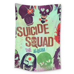 Panic! At The Disco Suicide Squad The Album Large Tapestry by Onesevenart