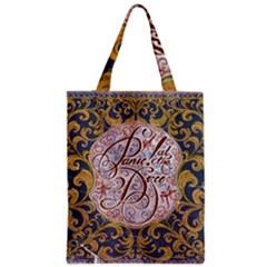 Panic! At The Disco Zipper Classic Tote Bag by Onesevenart