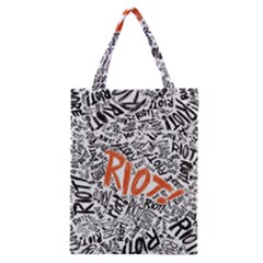 Paramore Is An American Rock Band Classic Tote Bag by Onesevenart