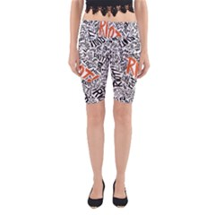 Paramore Is An American Rock Band Yoga Cropped Leggings by Onesevenart
