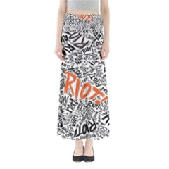 Paramore Is An American Rock Band Maxi Skirts by Onesevenart