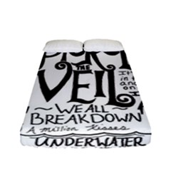 Pierce The Veil Music Band Group Fabric Art Cloth Poster Fitted Sheet (full/ Double Size) by Onesevenart