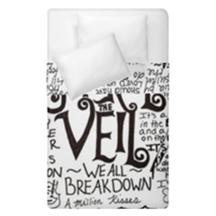 Pierce The Veil Music Band Group Fabric Art Cloth Poster Duvet Cover Double Side (single Size) by Onesevenart