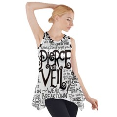 Pierce The Veil Music Band Group Fabric Art Cloth Poster Side Drop Tank Tunic by Onesevenart