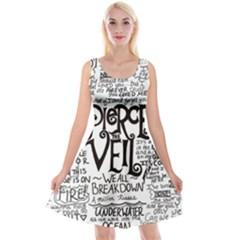 Pierce The Veil Music Band Group Fabric Art Cloth Poster Reversible Velvet Sleeveless Dress by Onesevenart