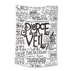 Pierce The Veil Music Band Group Fabric Art Cloth Poster Small Tapestry by Onesevenart