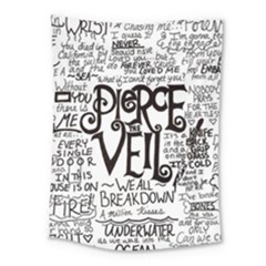 Pierce The Veil Music Band Group Fabric Art Cloth Poster Medium Tapestry by Onesevenart