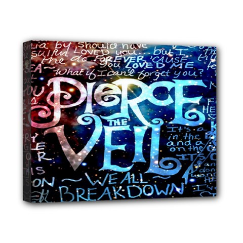 Pierce The Veil Quote Galaxy Nebula Canvas 10  X 8  by Onesevenart