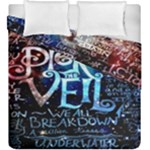 Pierce The Veil Quote Galaxy Nebula Duvet Cover Double Side (King Size)