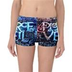 Pierce The Veil Quote Galaxy Nebula Reversible Bikini Bottoms