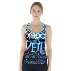 Pierce The Veil Quote Galaxy Nebula Racer Back Sports Top