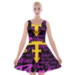 Prince Poster Velvet Skater Dress