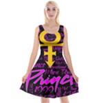 Prince Poster Reversible Velvet Sleeveless Dress