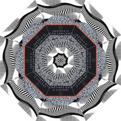 Sometimes Quiet Is Violent Twenty One Pilots The Meaning Of Blurryface Album Straight Umbrellas by Onesevenart