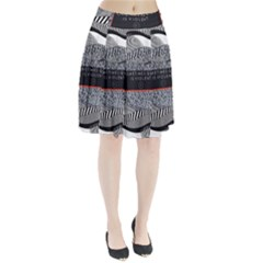 Sometimes Quiet Is Violent Twenty One Pilots The Meaning Of Blurryface Album Pleated Skirt by Onesevenart