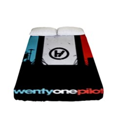 Twenty One 21 Pilots Fitted Sheet (full/ Double Size) by Onesevenart