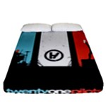 Twenty One 21 Pilots Fitted Sheet (Queen Size)