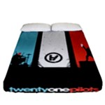 Twenty One 21 Pilots Fitted Sheet (California King Size)