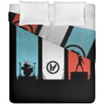 Twenty One 21 Pilots Duvet Cover Double Side (California King Size)