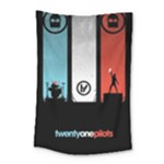 Twenty One 21 Pilots Small Tapestry