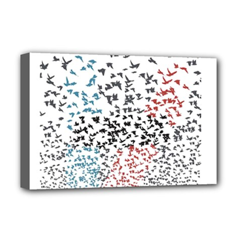 Twenty One Pilots Birds Deluxe Canvas 18  X 12   by Onesevenart