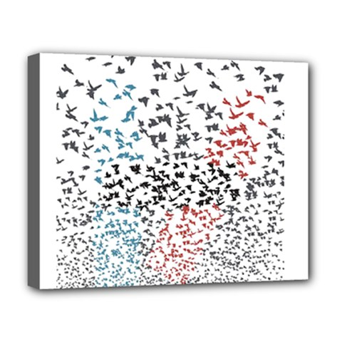 Twenty One Pilots Birds Deluxe Canvas 20  X 16   by Onesevenart
