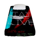 Twenty One Pilots Stay Alive Song Lyrics Quotes Fitted Sheet (Single Size)
