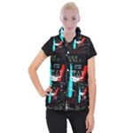 Twenty One Pilots Stay Alive Song Lyrics Quotes Women s Button Up Puffer Vest