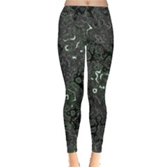 Abstraction Leggings  by Valentinaart