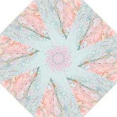 Geode Crystal Pink Blue Straight Umbrellas by Mariart
