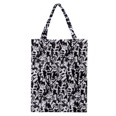 Deskjet Ink Splatter Black Spot Classic Tote Bag by Mariart