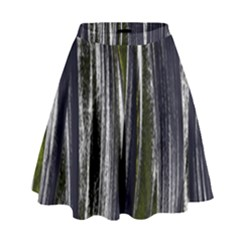 Abstraction High Waist Skirt by Valentinaart
