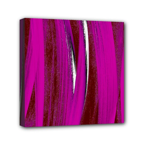 Abstraction Mini Canvas 6  X 6  by Valentinaart