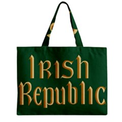 The Irish Republic Flag (1916, 1919 1922) Zipper Mini Tote Bag by abbeyz71