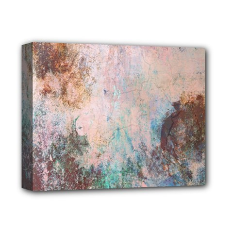 Cold Stone Abstract Deluxe Canvas 14  X 11  by theunrulyartist