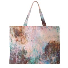 Cold Stone Abstract Zipper Large Tote Bag by theunrulyartist