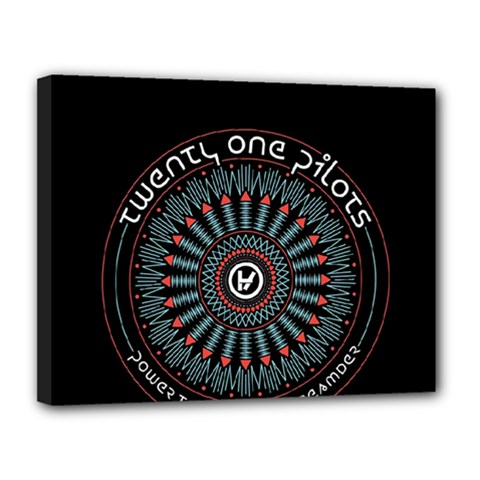 Twenty One Pilots Canvas 14  X 11  by Onesevenart