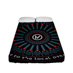 Twenty One Pilots Fitted Sheet (full/ Double Size) by Onesevenart