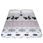 Ugly Christmas Humping Fitted Sheet (King Size)