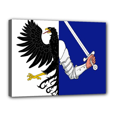 Flag Of Connacht Canvas 16  X 12  by abbeyz71