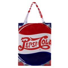 Pepsi Cola Classic Tote Bag by Onesevenart
