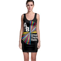 Above & Beyond  Group Therapy Radio Sleeveless Bodycon Dress by Onesevenart