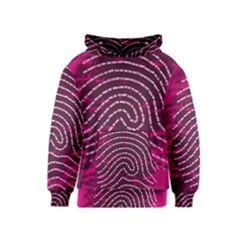 Above & Beyond Sticky Fingers Kids  Pullover Hoodie by Onesevenart