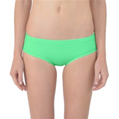 Neon Color   Light Brilliant Malachite Green Classic Bikini Bottoms by tarastyle
