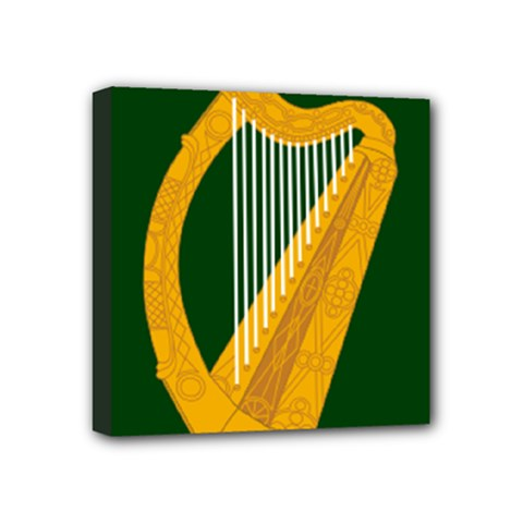 Flag Of Leinster Mini Canvas 4  X 4  by abbeyz71