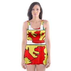 County Antrim Coat Of Arms Skater Dress Swimsuit by abbeyz71